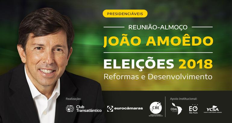 Eleições 2018 | Almoço com João Amoêdo - Vídeo Completo